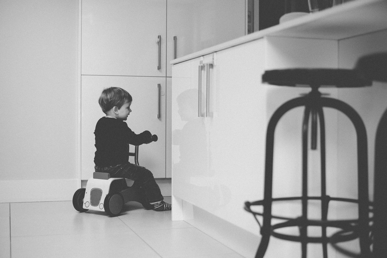 In-home Baby Photography Session, Clapham