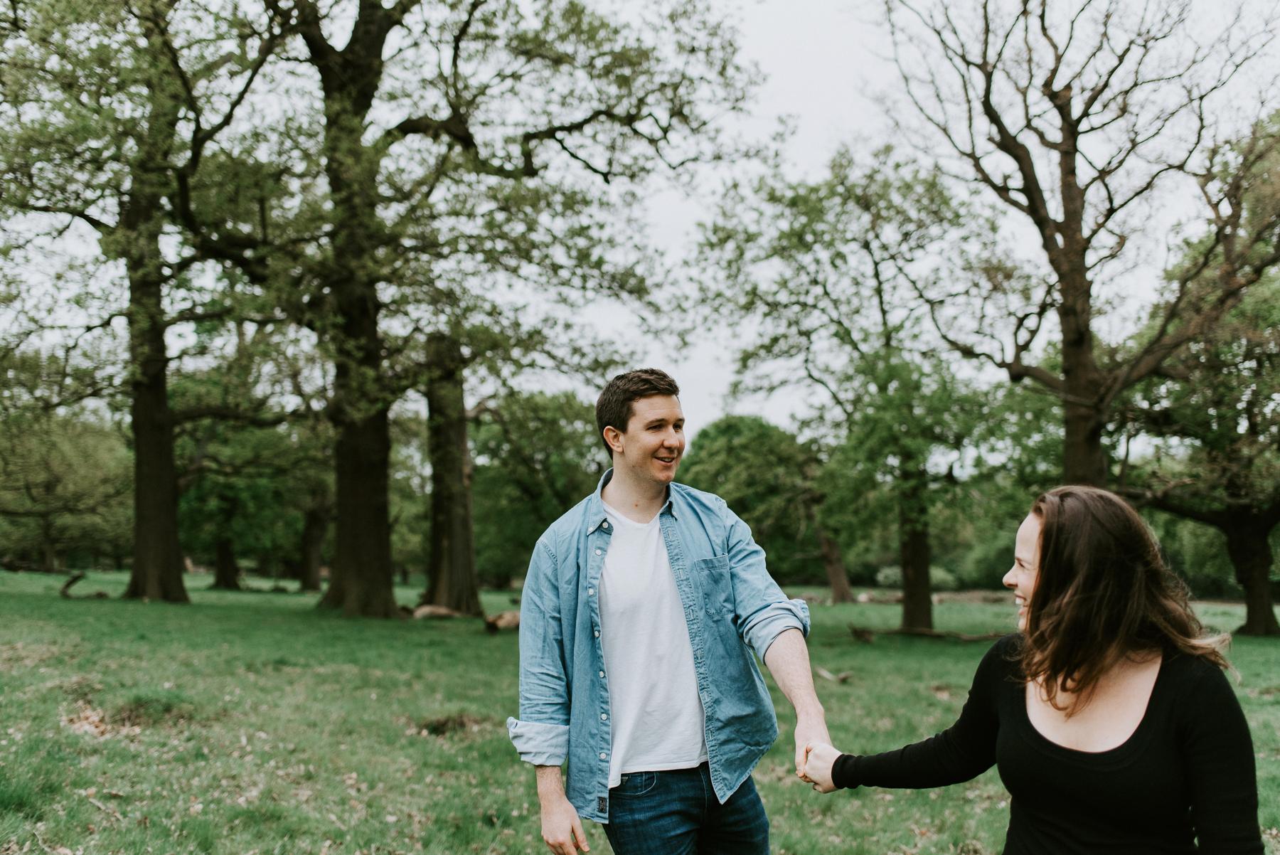 Engagement Session Richmond Park