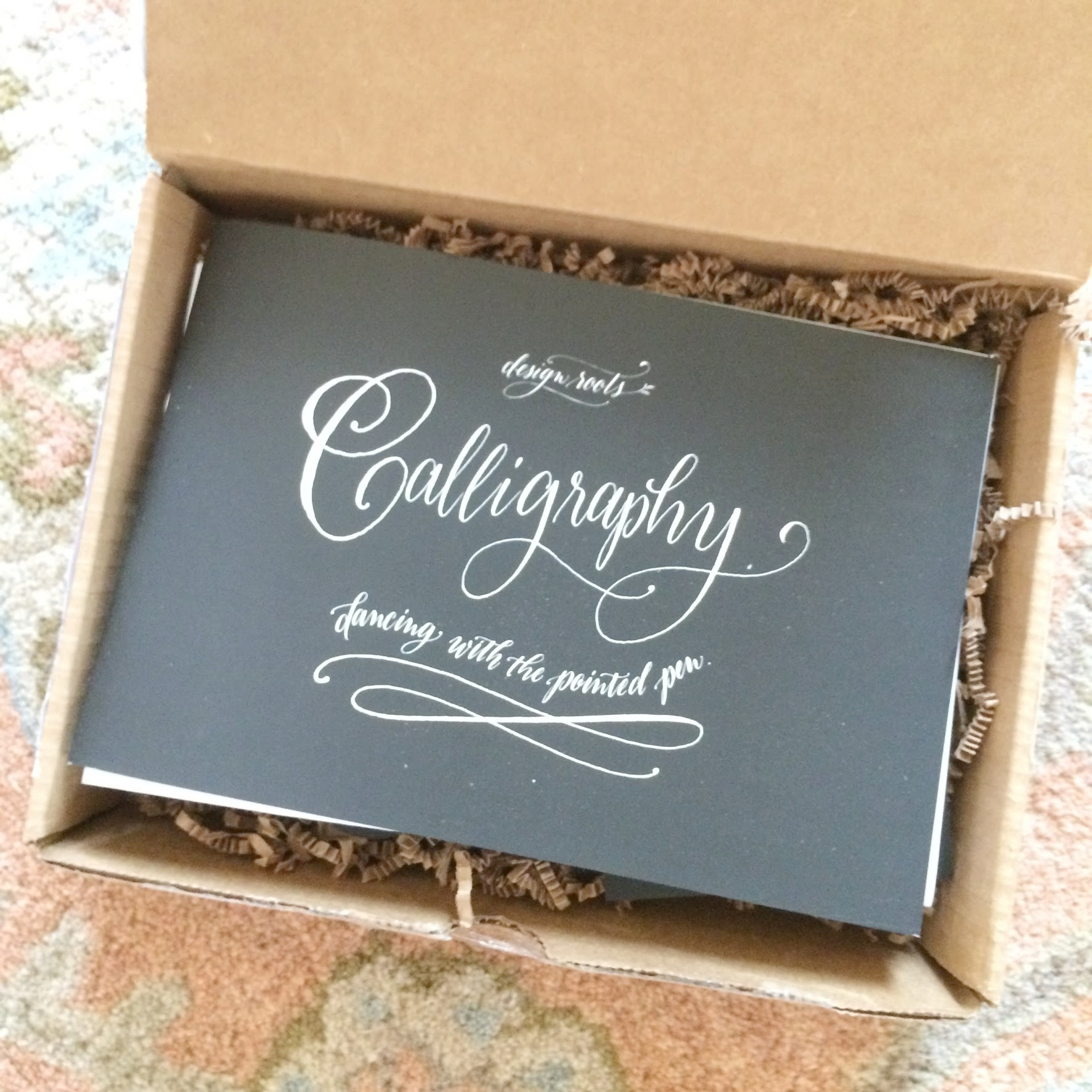 calligraphy kit by @designroots