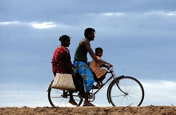 Bike riding in Sri Lanka         Photo credit: Getty Images