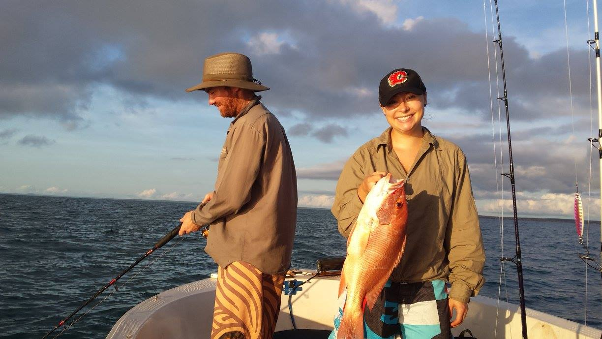 Fun fishing times out with good mates - the weekends can be pretty awesome up here
