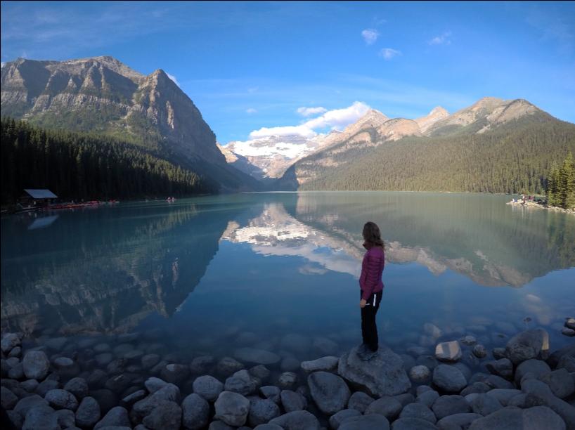 An early morning at Lake Louise – Alberta, Canada