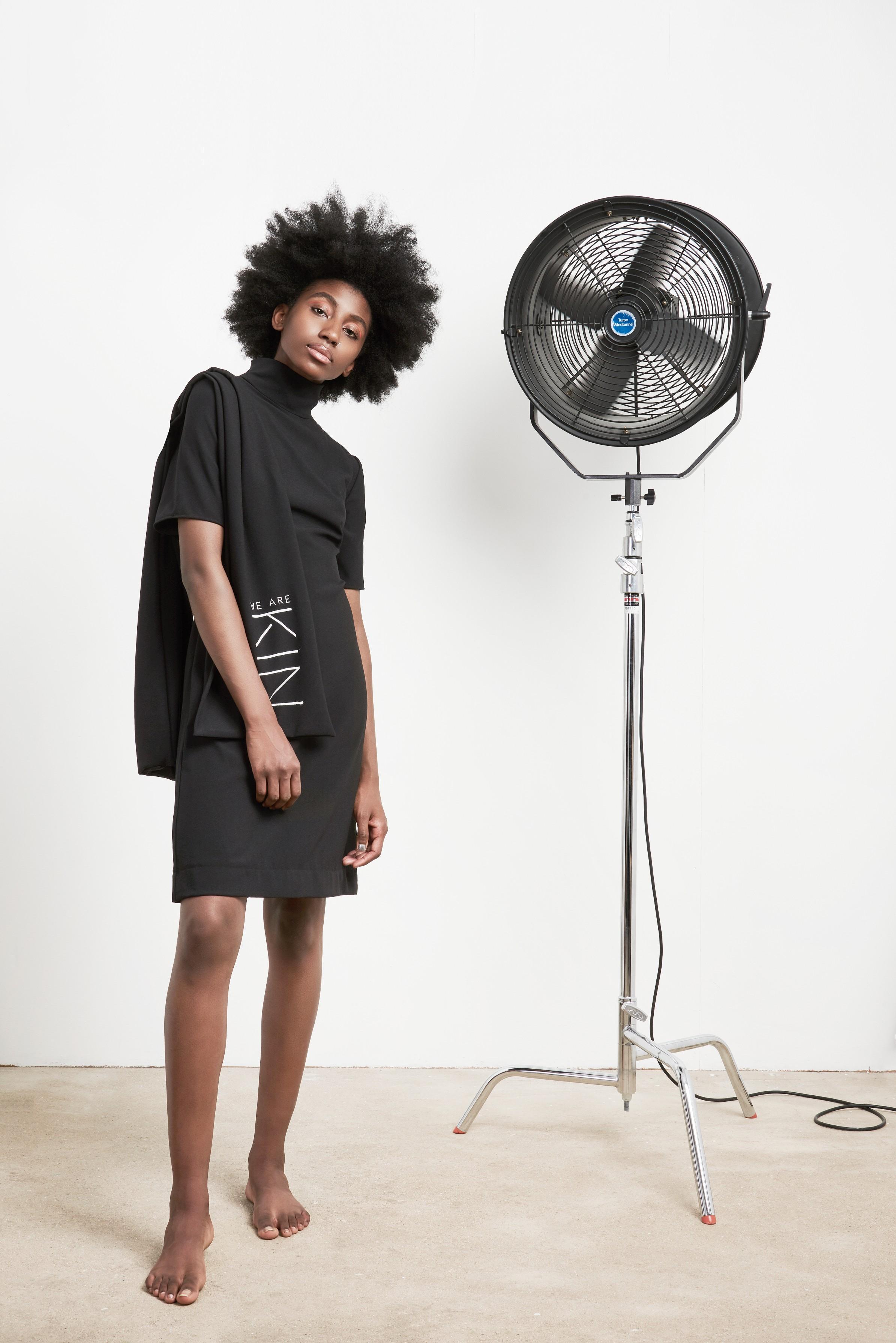 Photography - Ester Keate  MUA - Lydia Warhust  Set Design - Freya Wentworth-Stanley  Model - Ejatu Shaw  Stylist - Melissa Holdbrook-Akpose