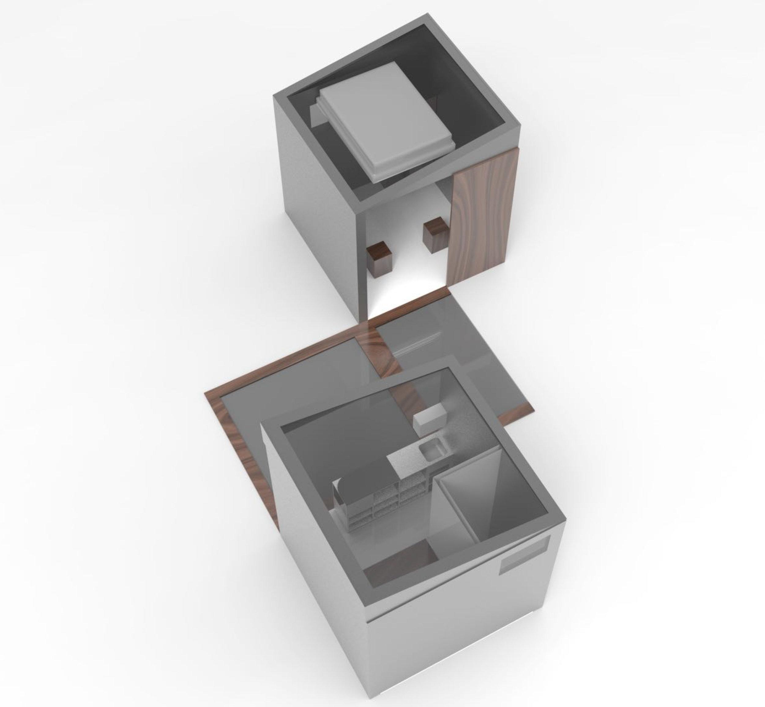Final rendering of   Cubix                                                 Credit: Shikhar Tyagi