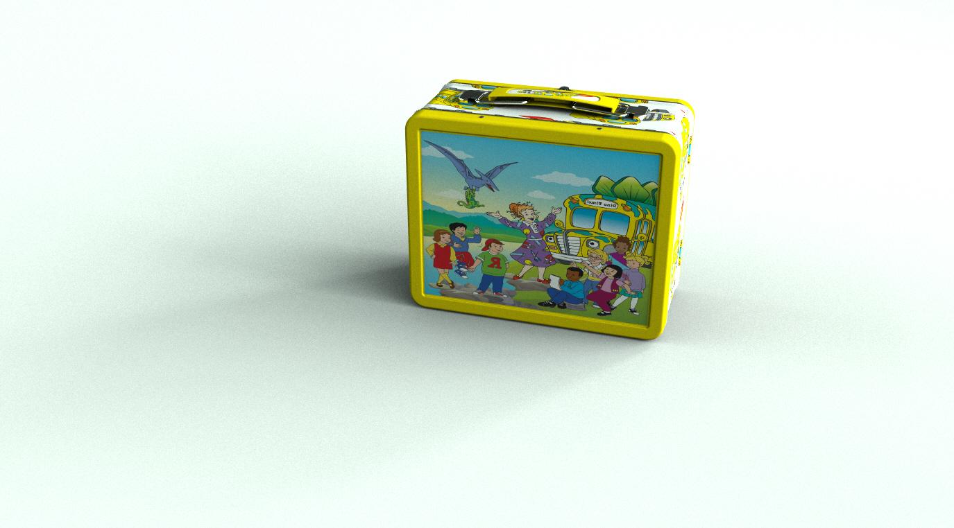 Magic School Bus kid's lunch box