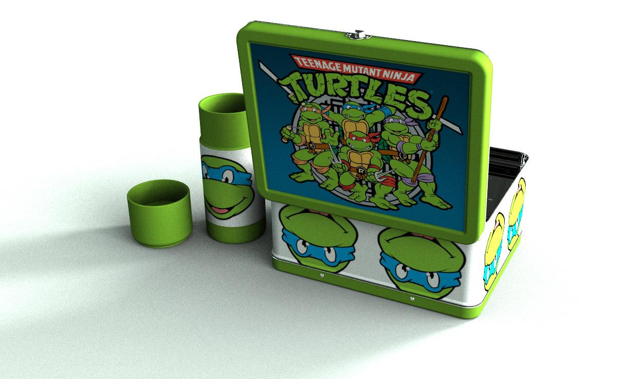Teenage Mutant Ninja Turtle kid's lunch box