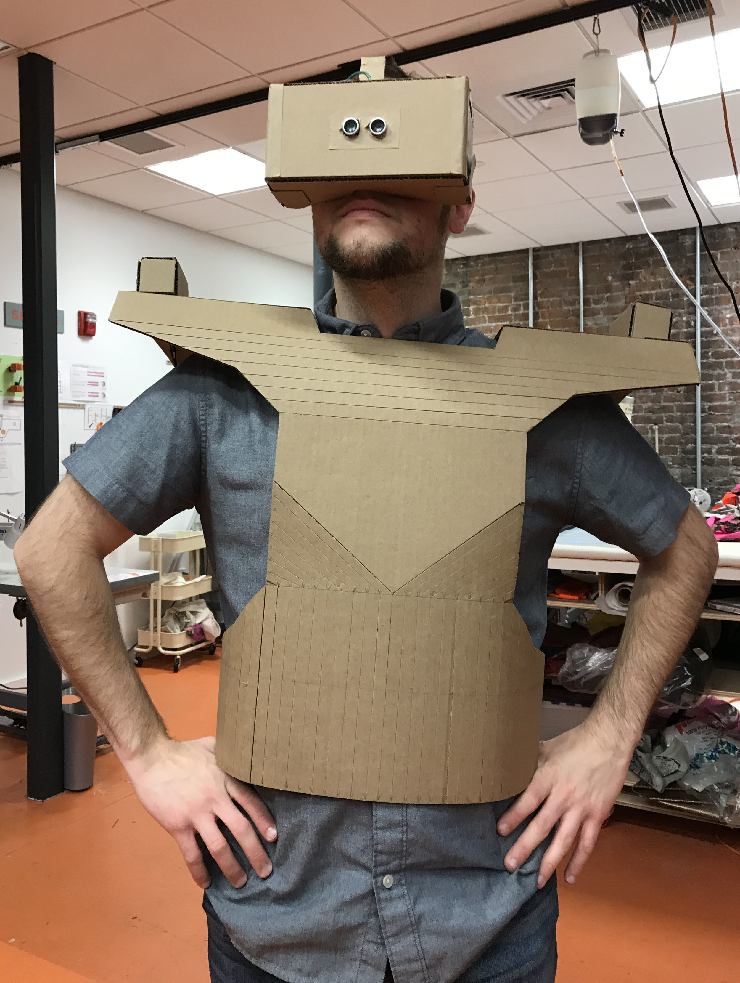 Android suit bench testing