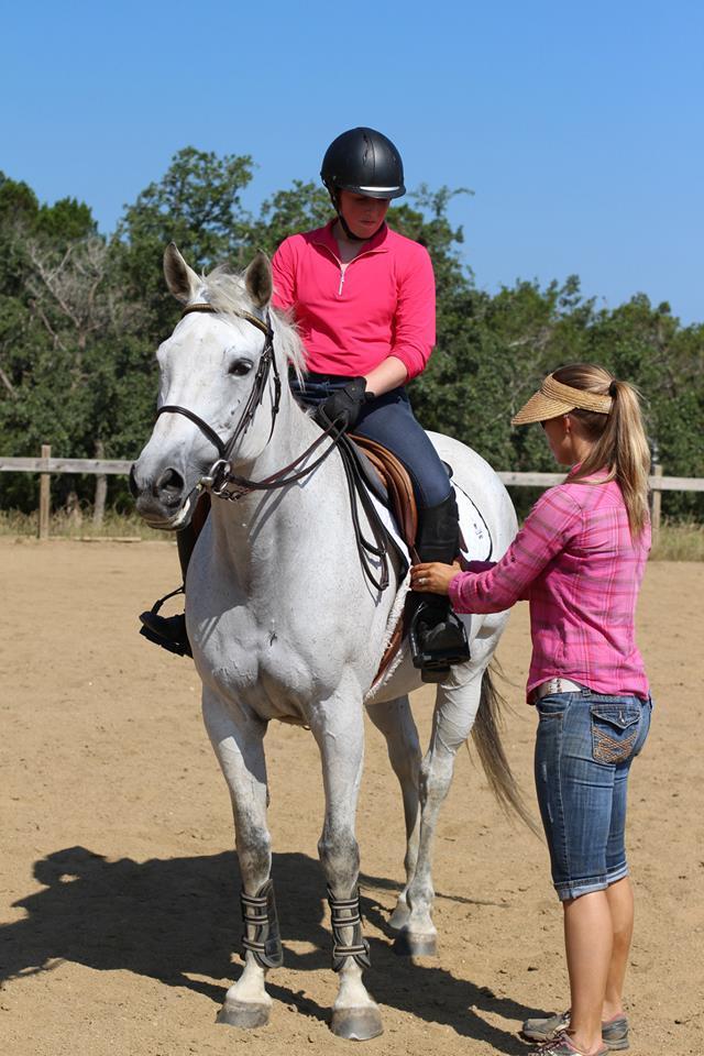 Come take a horseback riding lesson at Coraggio today!