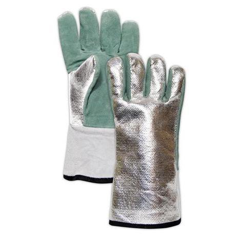 Magid® WeldPro® DJXG1575 Aluminized Carbon Kevlar®/Leather Welding Gloves