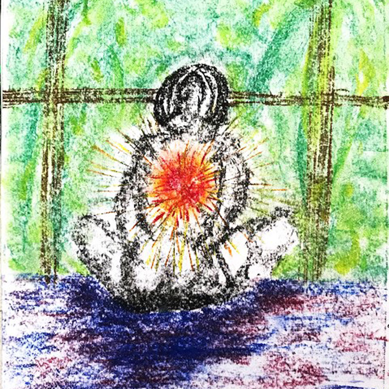 Opening Chakras - Zoe Jack's artwork