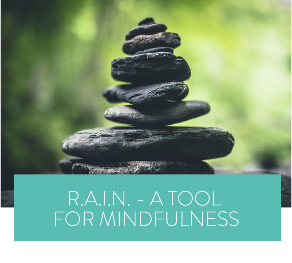 RAIN - A tool for mindfulness