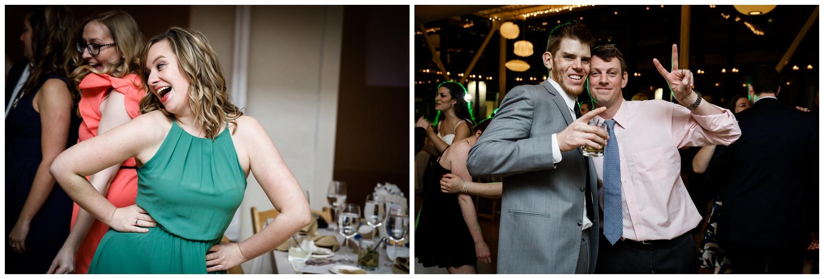 wedding reception at Chicago's Greenhouse Loft