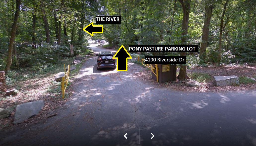 Pony Pasture parking.JPG