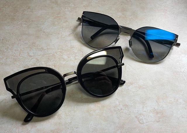 Which is Better; Black or Silver?#framefriday #bottegaveneta #ovvooptics #massengaleeyecare