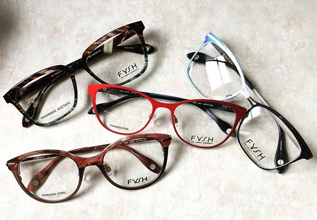 This #framefriday we are showcasing  @fyshuk's line of fashionable glasses, brand new to our store!! #massengaleeyecare #optical #eyewear @westgroupe