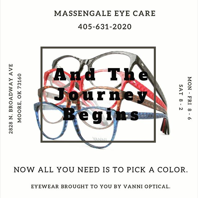 We have eyewear of all colors, shapes, and brands!!! #vannieyewear #glasses #optical #massengaleeyecare