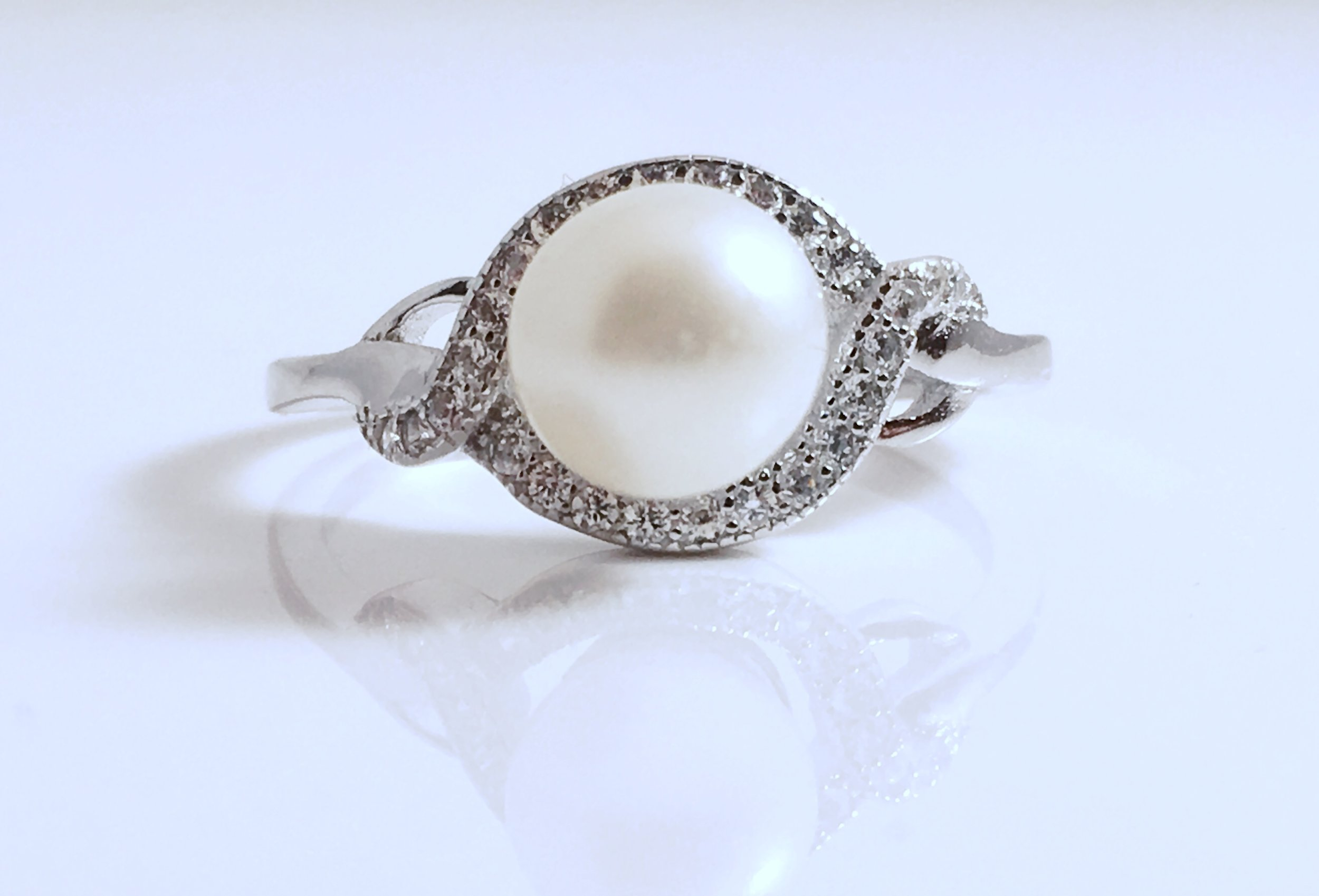 Rings and Earrings - Mount Your Beautiful PearlSo Everyone Can See!