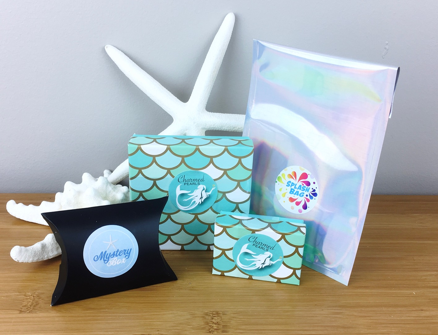 Mystery Party Boxes - Try Something Fun! Open one of our Mystery Boxes at your next party!