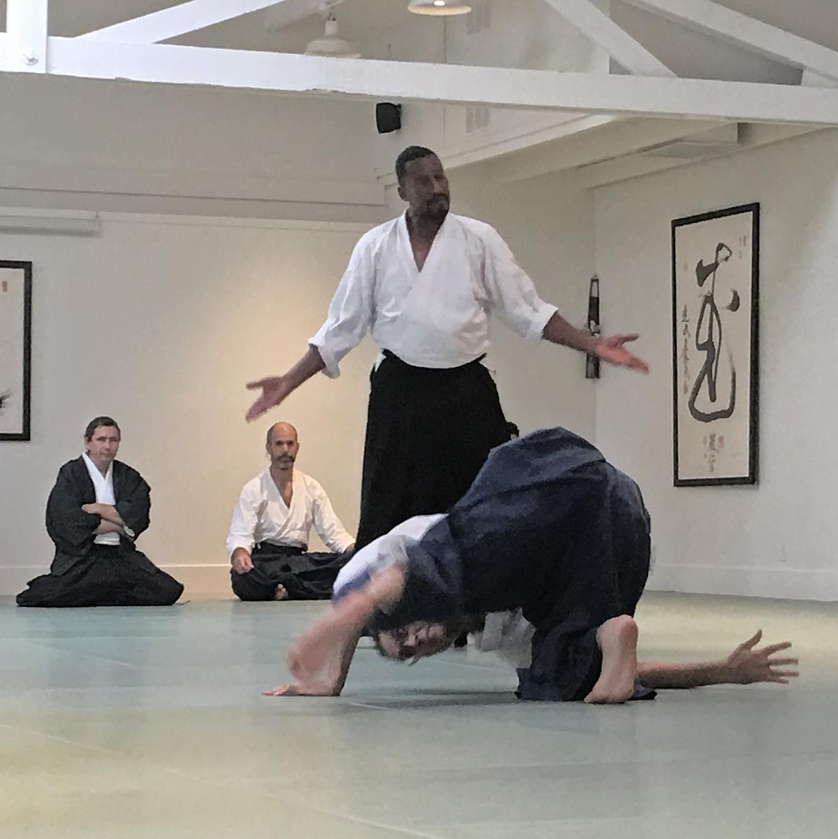 RJ during his Shodan Black Belt Test. The Embodiment of Executive Presence on the mat.