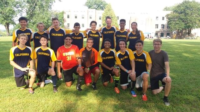 California Soccer Team at BCSF 2017