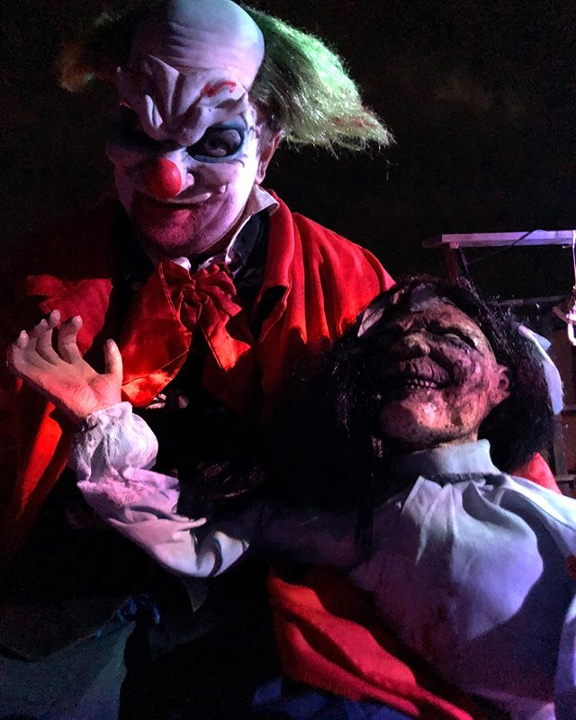 Come join us tonight for the LAST night of the 2018 haunt season! Tickets are $10 a piece (cash only) and ticket sales are 7:00 - until! Keep your ticket stubs to vote for your favorite scene and to be able to enter our giveaway for four FREE tickets for the 2019 haunt season. Happy Halloween!