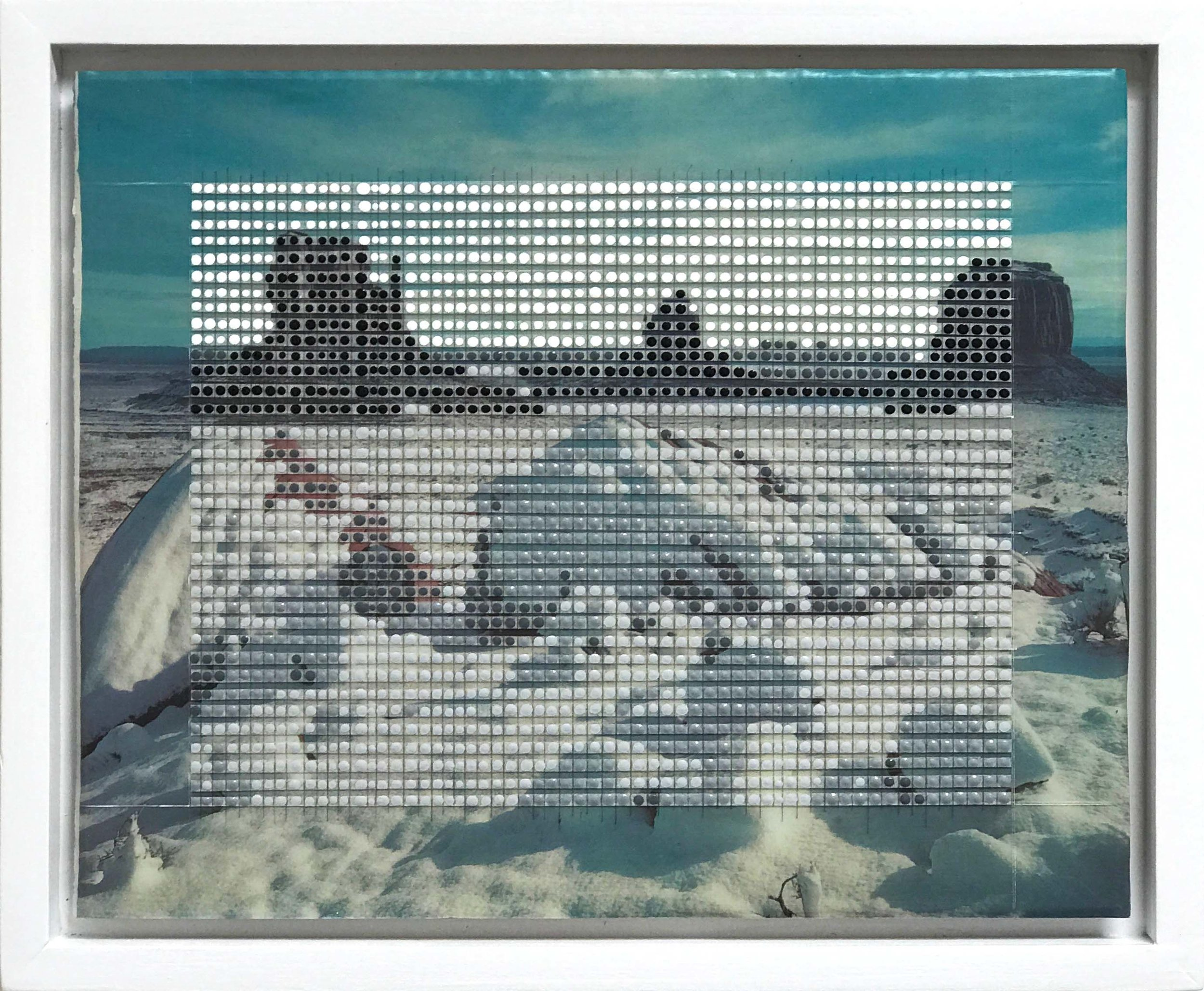 "Monument Valley, AZ / Borrowed Landscape No.4 / 2017 / 9""h x 11""w / Private collection"