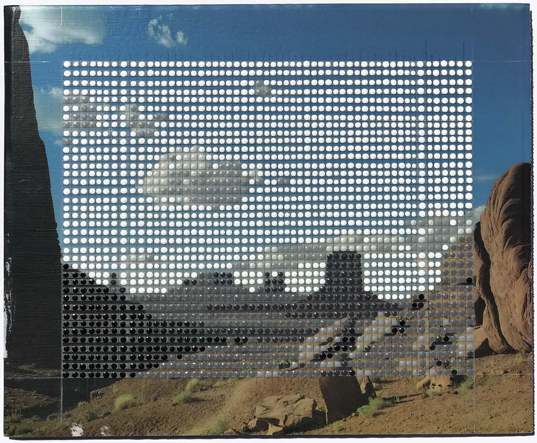 "The North Window, Monument Valley, AZ / Borrowed Landscape No.13 / 2018 / 9""h x 11""w"