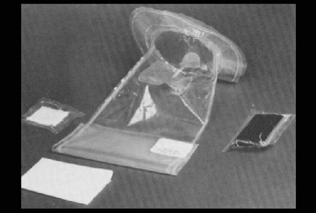 An Apollo-era NASA fecal collector!