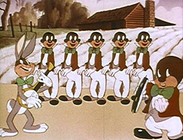 Yeah, we were just watching Looney Tunes on YouTube and it almost  immediately  became racist. History is unfortunate.
