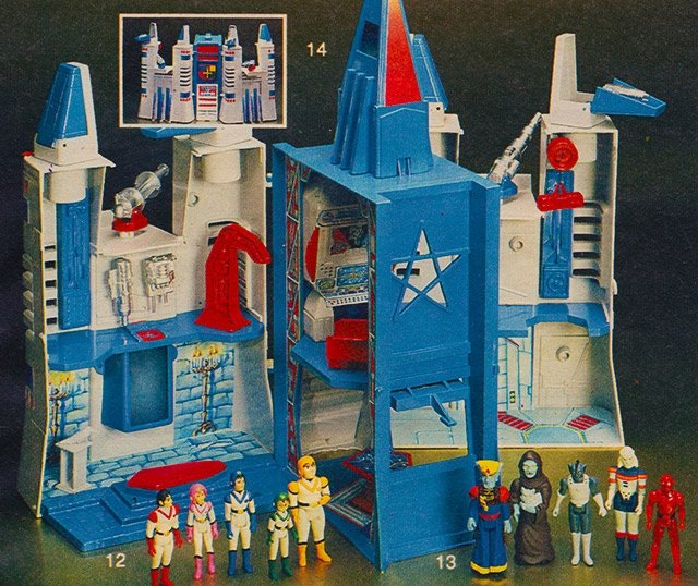 It was this castle that stood in for a Transformers base in Aaron's childhood.