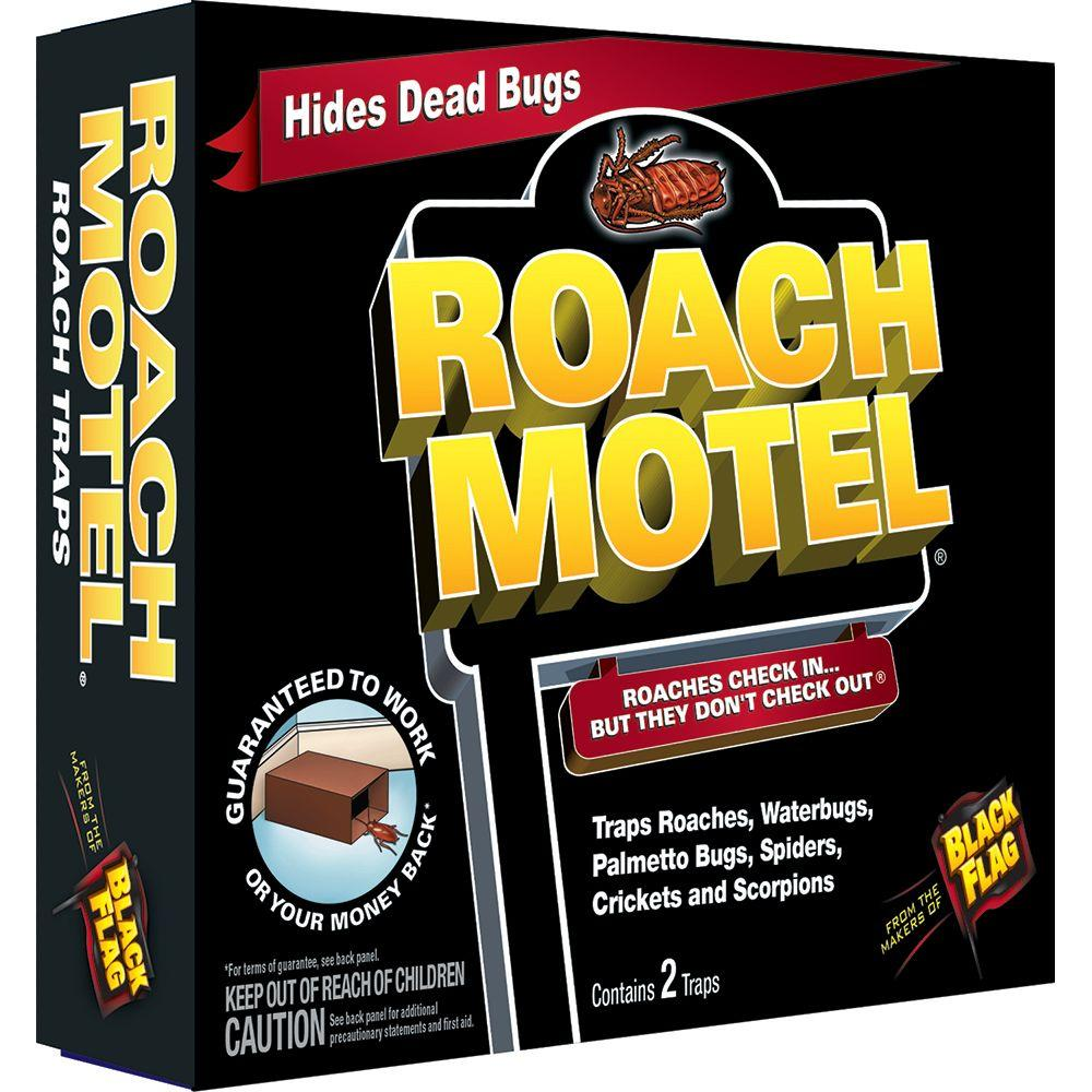 Roaches check in...but they don't check out.