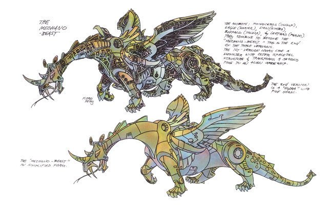 Floro Dery's Dragon Beast.