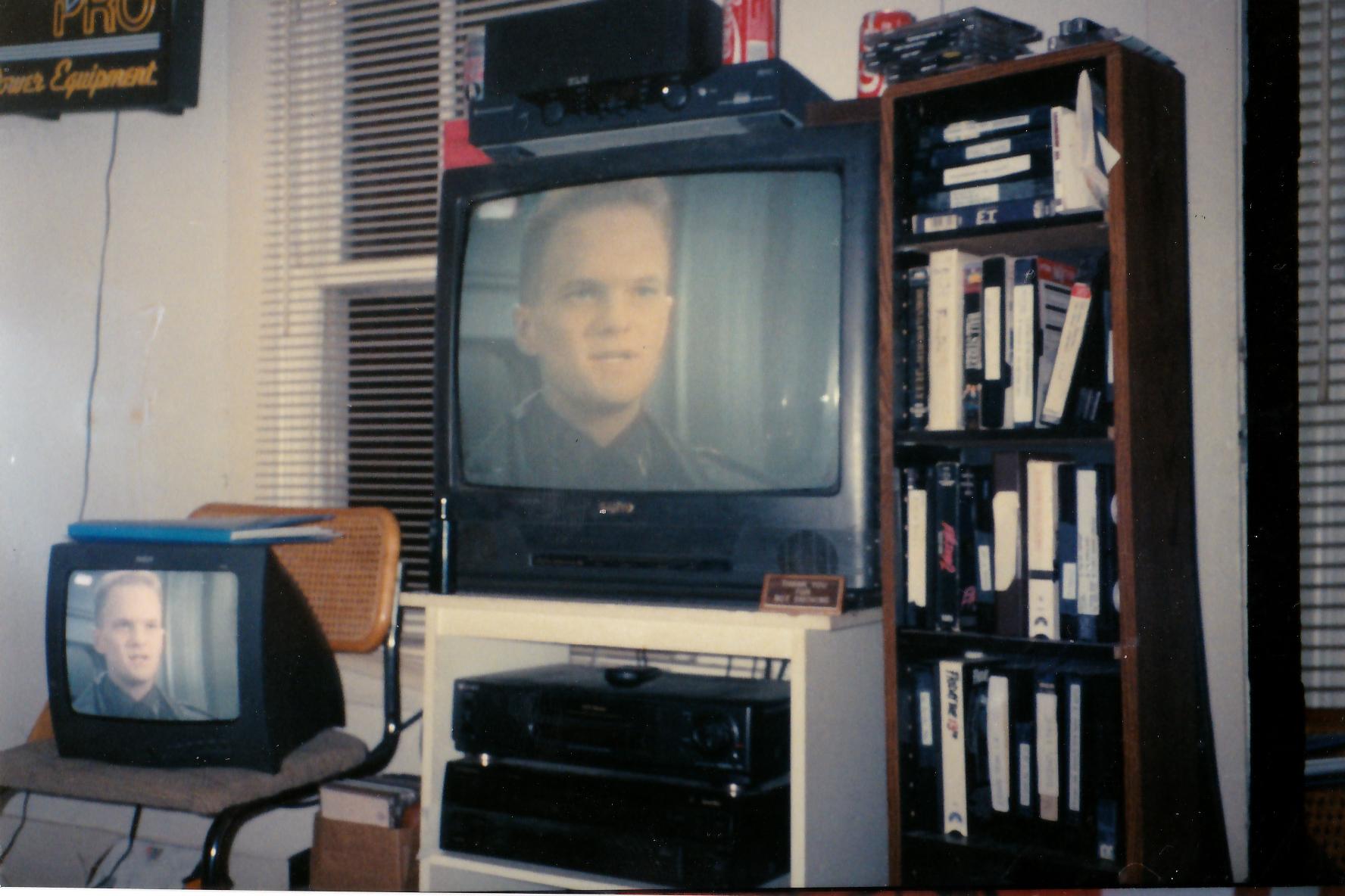 This was Jett's setup circa 1998.