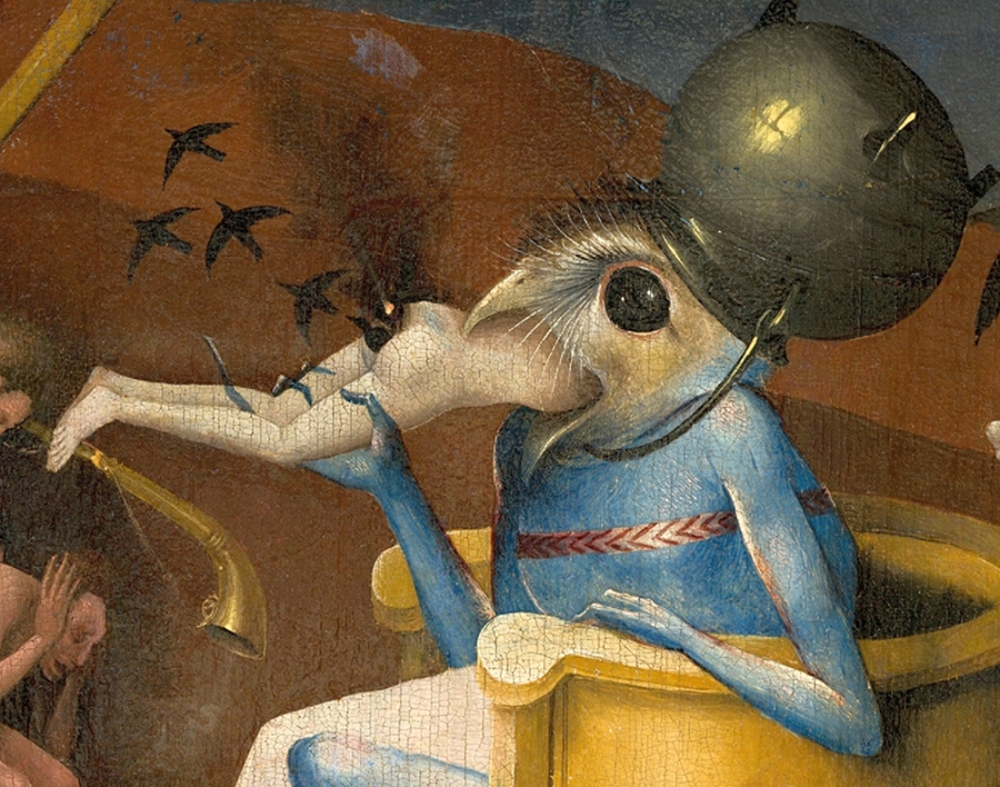 And  that's  Hieronymus Bosch.