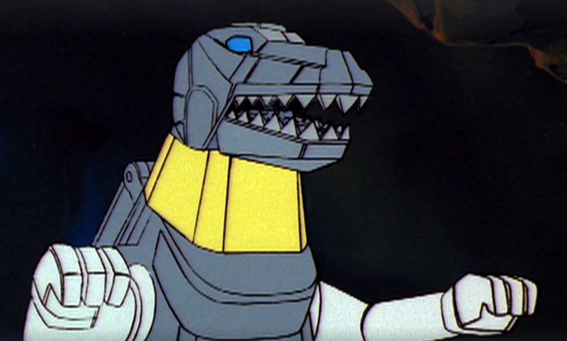 There really are some weird scenes where the Dinobots are super toy-accurate.