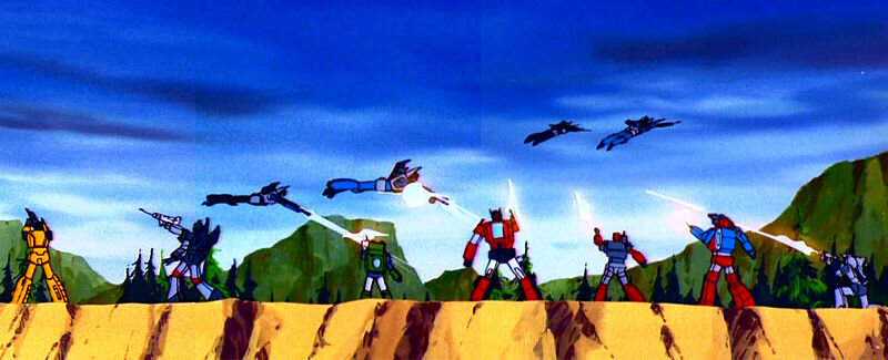 Every. Single. Autobot. Is miscolored.