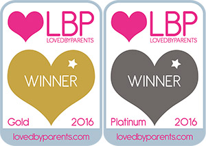 """The MamaBib™ has already scooped two prestigious LovedByParents Awards for """"Best Breastfeeding Top' and 'Best Product for Breastfeeding'!"""
