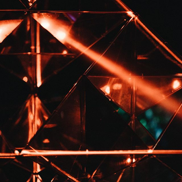 Pentakis by @perceptual.engineering at @turamafestival