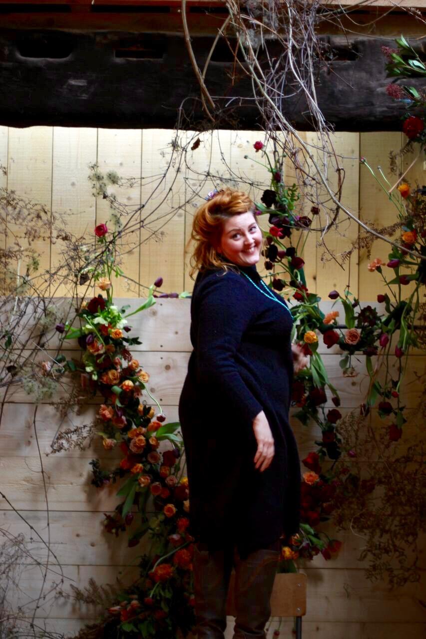 Happy florist!  Image by Julie King
