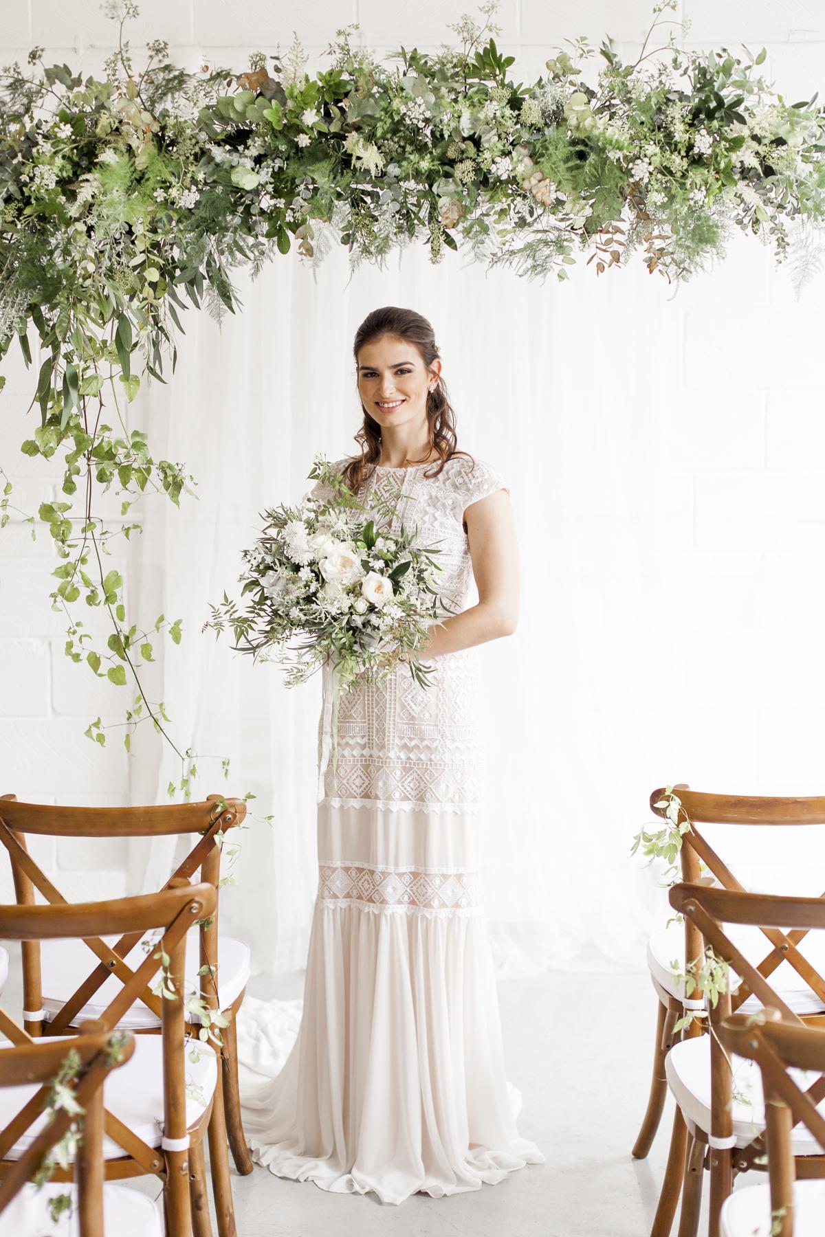 Image - Helen Warner Photography | Florals - Moss & Stone Floral Design