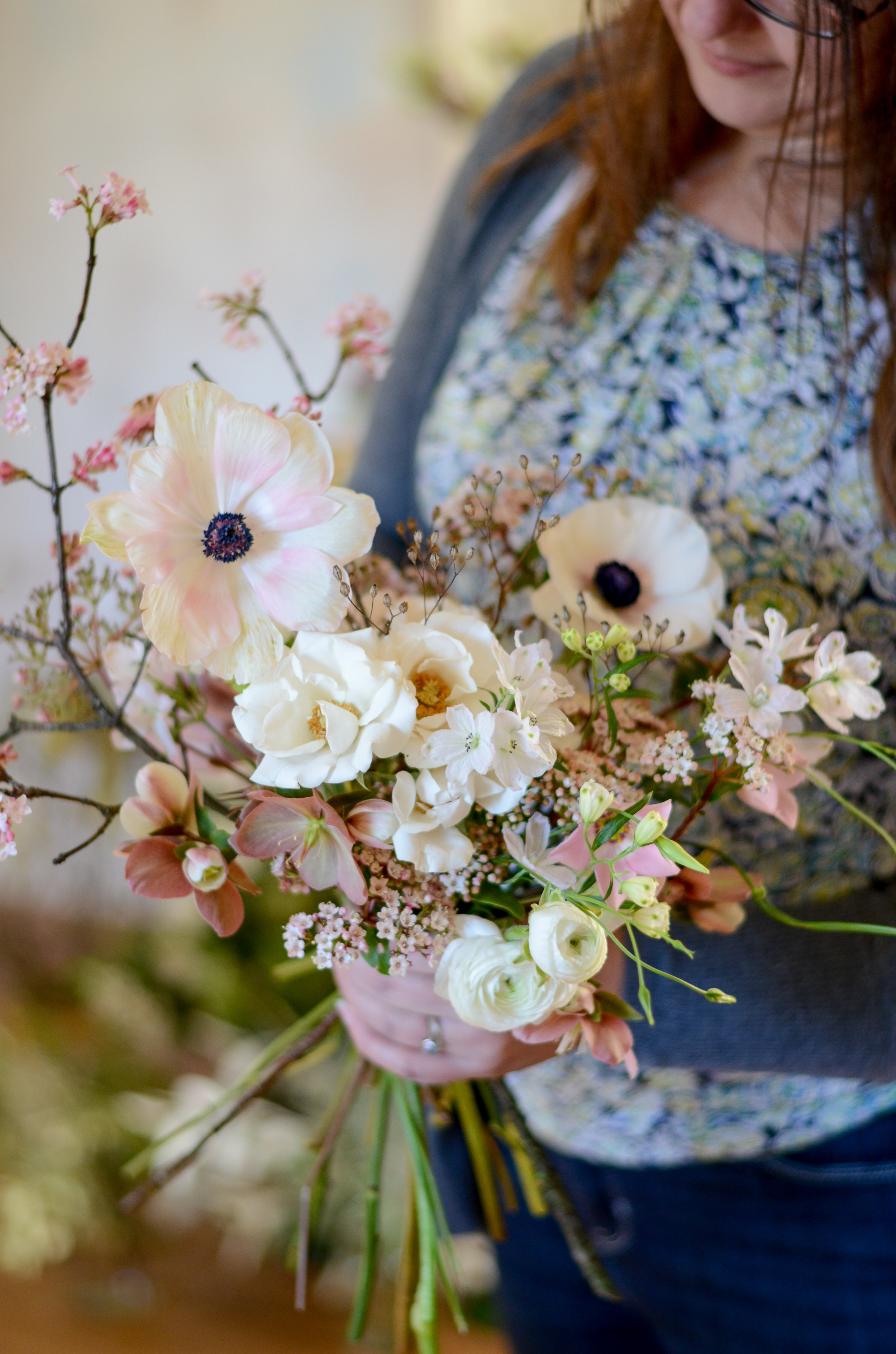 Florals - Alluring Blooms at Moss & Stone 1:1 Workshop | Image - Brigitte Girling