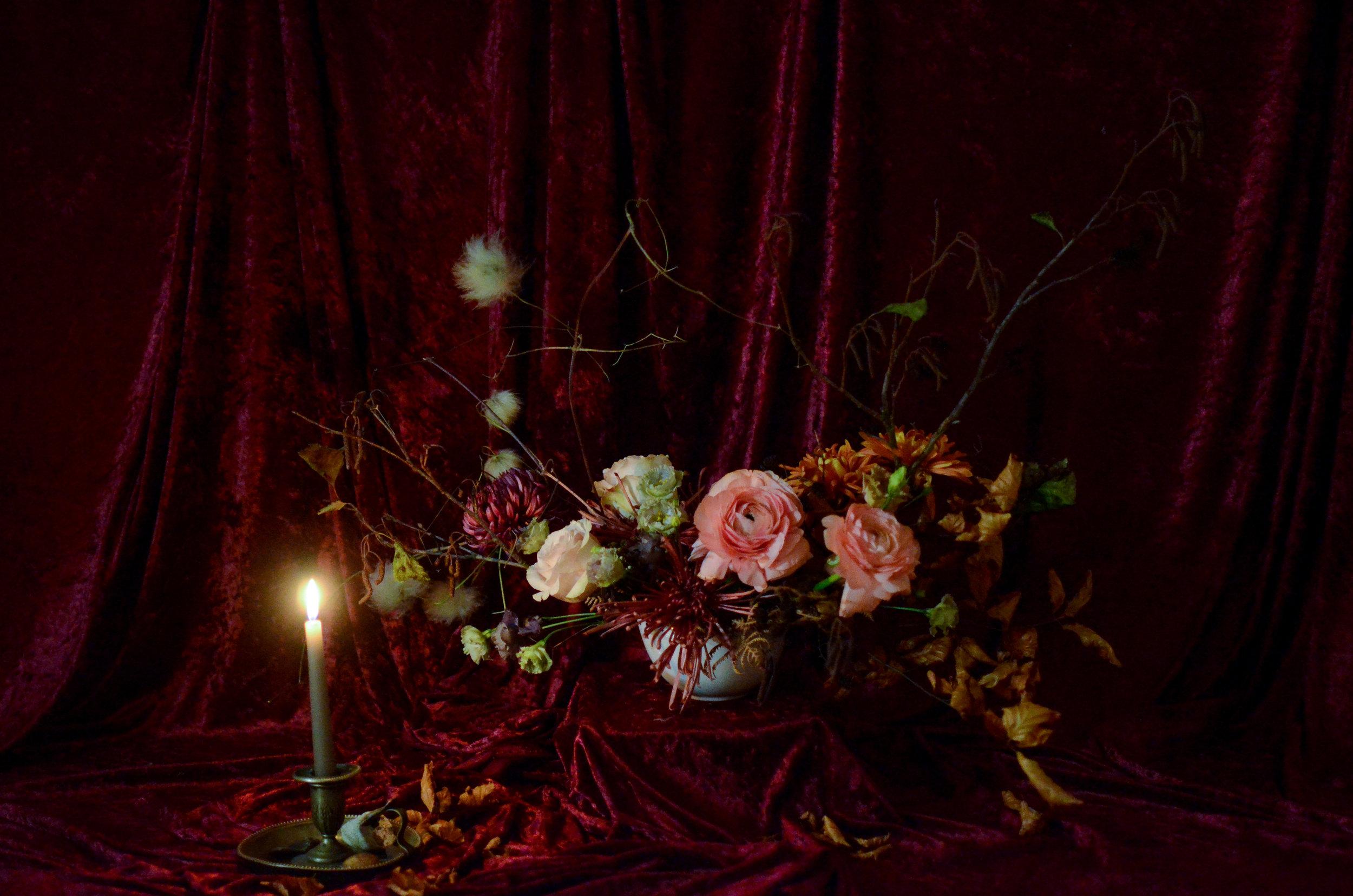 Image - Donatella at a Moss & Stone 1:2 Class | Image - Brigitte Girling