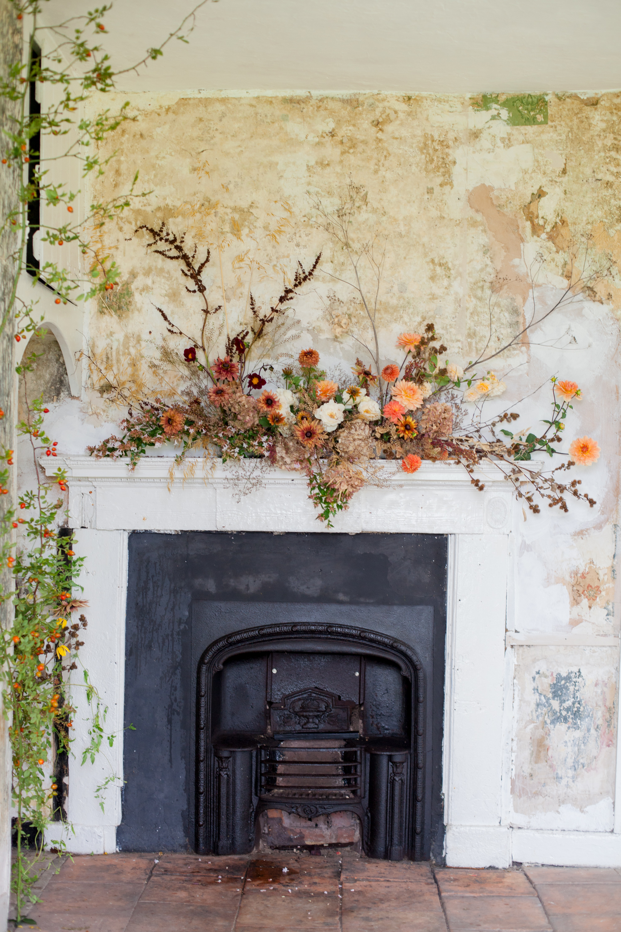 Moss & Stone Simply by Arrangement Helen Warner Photography