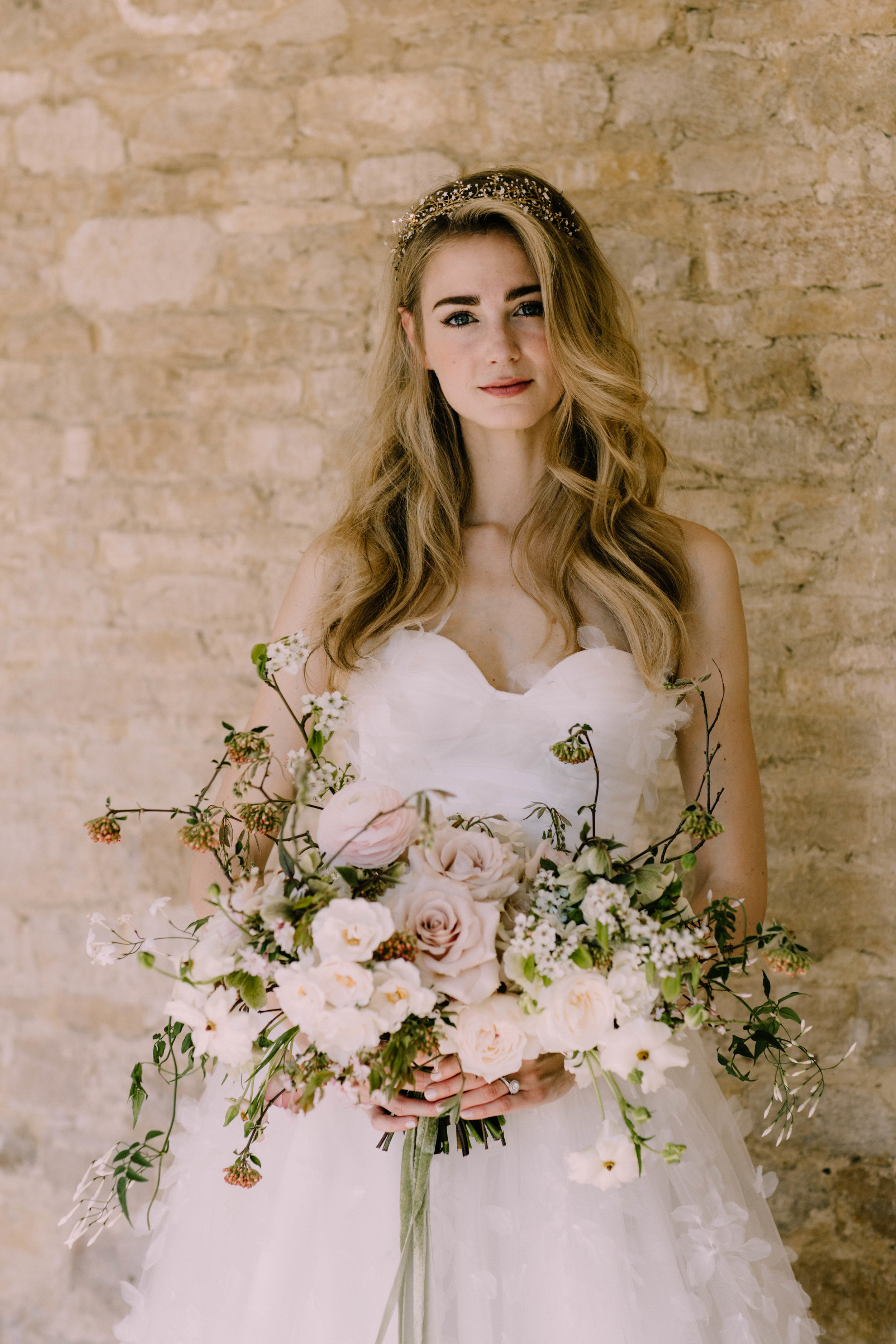 Florals  - Moss & Stone Floral Design | Rebecca Goddard Photography Coco  Kat Holywell Hall-281.jpg