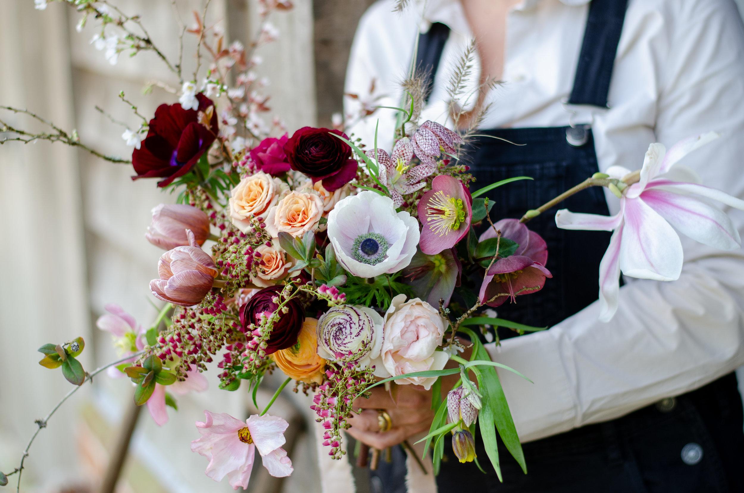 Jo's beautiful bouquet