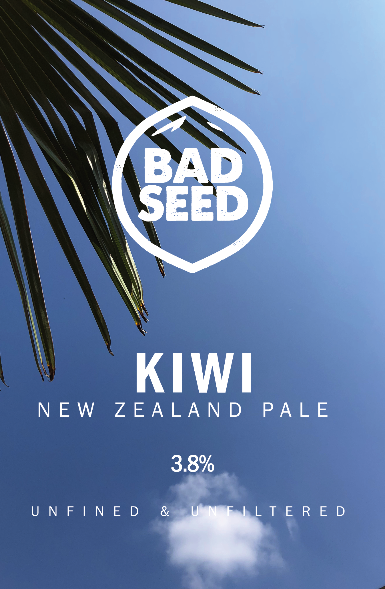 Kiwi  New Zealand hopped pale ale that delivers zesty freshness from the kilos of Wakatu dry hop.   3.8%  Cask only.