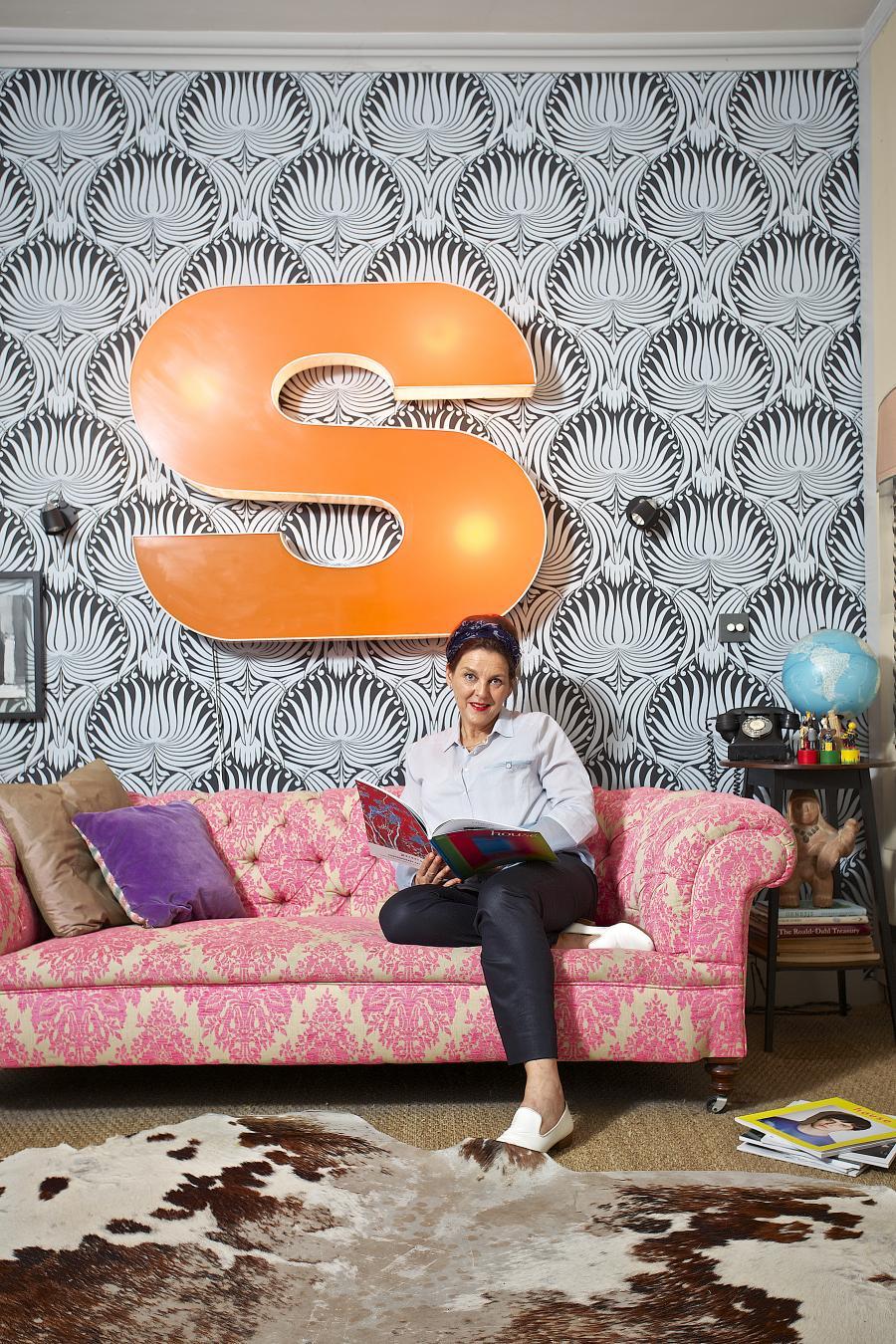 Colour Consultant Joa Studholme. Image via Evening Standard