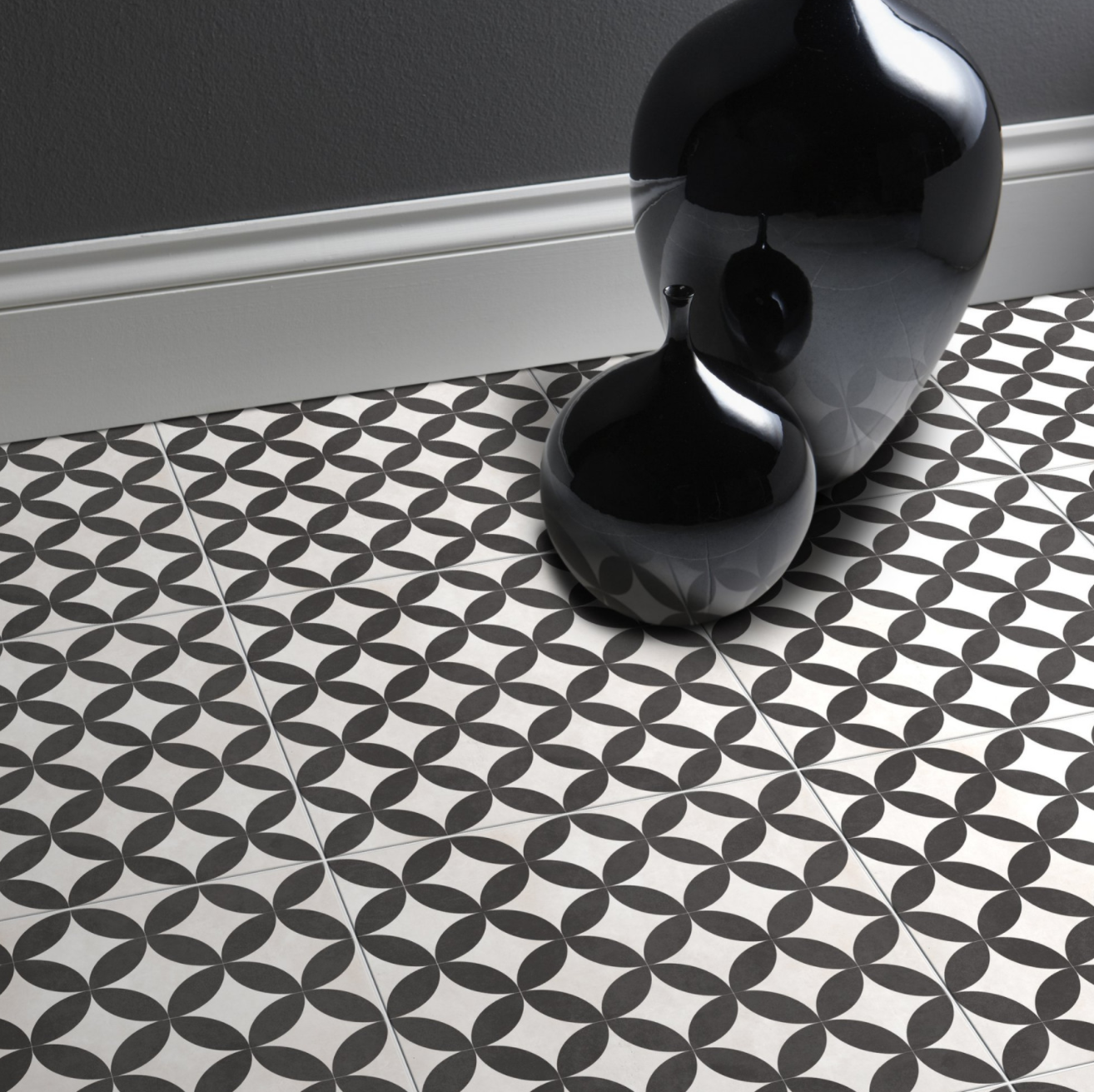 How cute are these feature floor tiles by British Ceramic Tiles? £32.86 per  m²