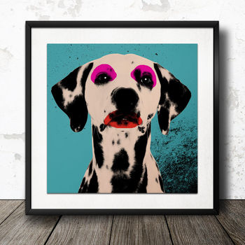 Personalised Dog Pop Art Poster | £29.99