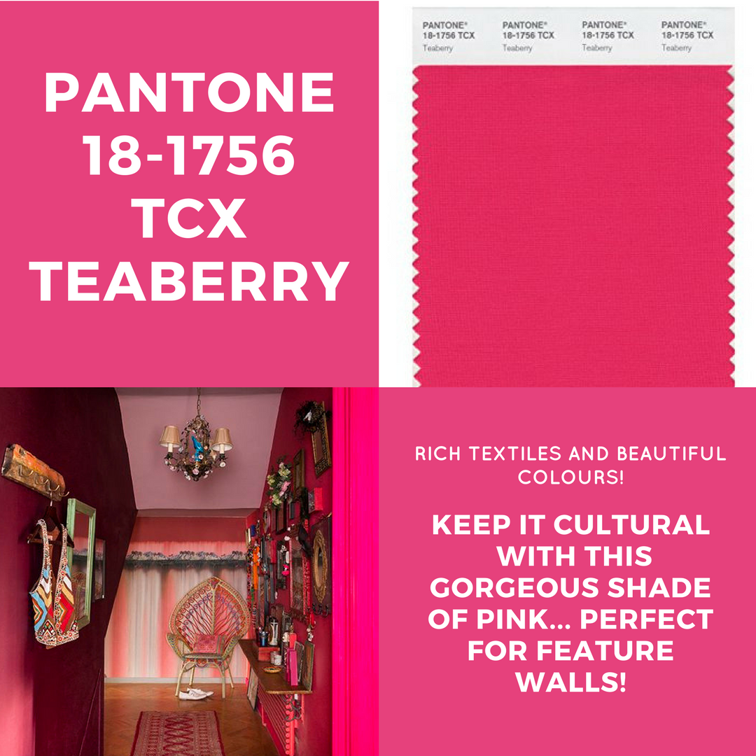 teaberry pantone